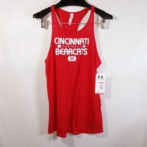 NWT Under Armour HeatGear NCAA Cincinnati Bearcats